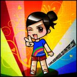 Look.. its Chibi-Me XD by Charlieishnesss