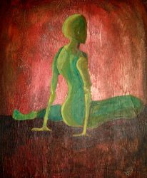 1995 Green Figure by wentzr