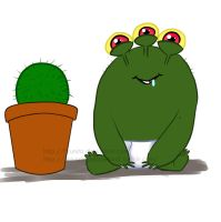 My Relatives are Cacti by Brunita