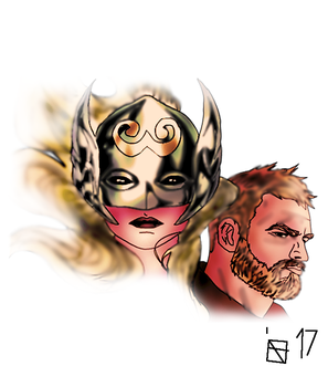 The Mighty Thor by FIREARROW1