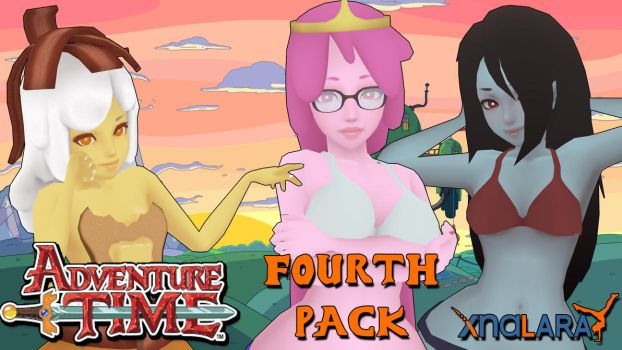 Adventure Time Models PACK 4 FOR XPS by ASideOfChidori