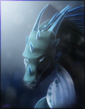Deep Blue .:B-Day Gift:. by 16Shards