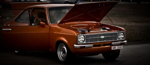 Orange Ford. by onyxcomix