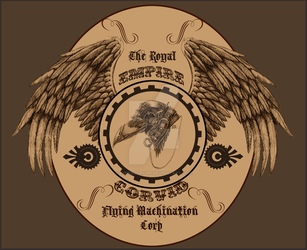 Royal Empire Corvid Flying Machination Corp by EzekielCrowe