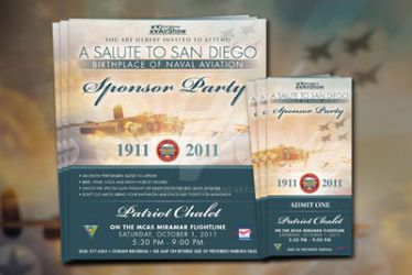Miramar Airshow Sponsor Party Invites and Tickets by Dragonis0