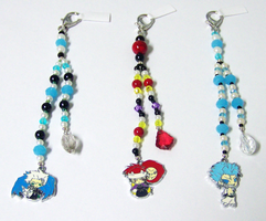 Bleach Beaded Fobs 2 by jordannamorgan
