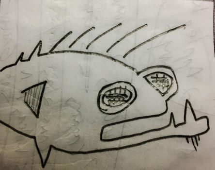 Stoned Fish by markroderick