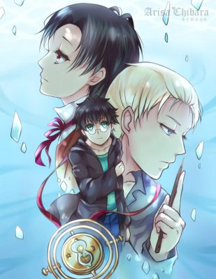 VBS drarry cover art by arisa-chibara