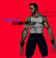 Comic Wolverine by AshwinArts