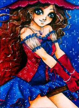 ACEO-Witch by atorife