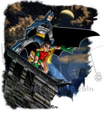 Batman and Robin by jonpinto