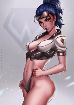 Widowmaker (Talon) by dandonfuga
