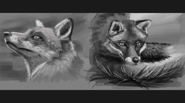 170721 Value Study by Foxeus