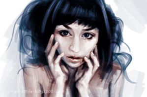 Speed Painting : noname by mad-smile