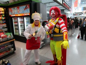 Hell's Chef and... Ronald McDonald Thor? by ShadowGirl7