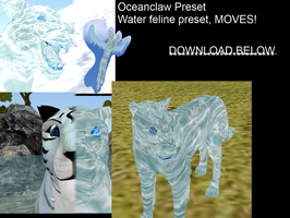 Oceanclaw, Moving water preset by NyanScourge