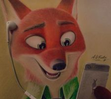 Nick Wilde :D by AndrejSKalin