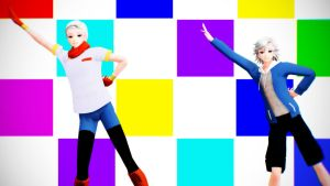 [MMD x Undertale] Sans and Papyrus +Download by MLAOA