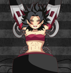 Request- Caulifla's pit tingles and sensitive side by Tera-Soul
