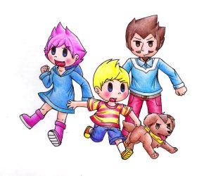 Mother 3 by CyanDrizzle