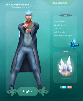 Character Library : Logius by Dewdrops-of-Crystal