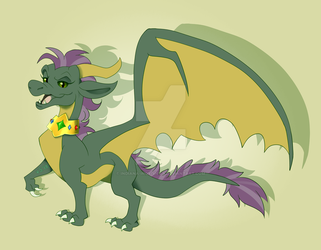 YCH Commission Mahari-The-Dragon by Indiana-INDY-Viola