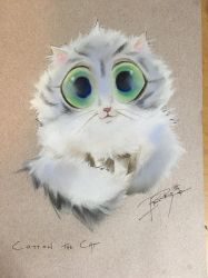 Cotton the cat by Lightoma