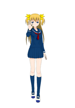 The Blonde Haired Girl by Rapier838