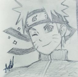 Naruto Doodle by MeowImAvery