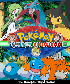 Pokemon Ultimate Showdown 3 DVD Cover by shadow0knight