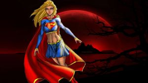 Supergirl Wallpaper - Red Planet by Curtdawg53