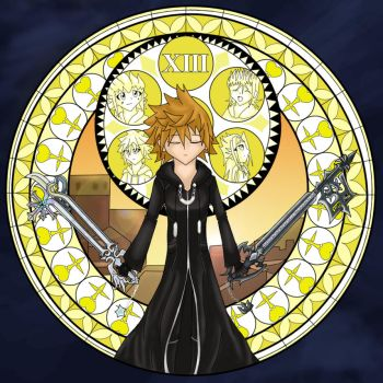 Roxas - Dive to the heart by darkangel6