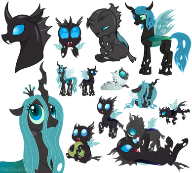 SO MANY CHANGELINGS by MObubbles