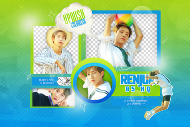 RENJUN PNG PACK #1/ NCT DREAM/We Young by Upwishcolorssx
