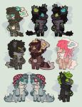 Adoptables auction (closed) by Shegoran
