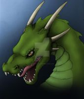 Dragon - green version by KTechnicolour