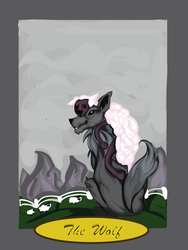 .:The Wolf in Sheep's Skin:. by InfinitiesEnd