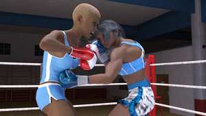 Tamao Silver and Ysabeau Leclerq sparring 02 by suzukishinji