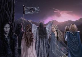 Tarnin Austa - Age of Gondolin by Ladyoftheflower