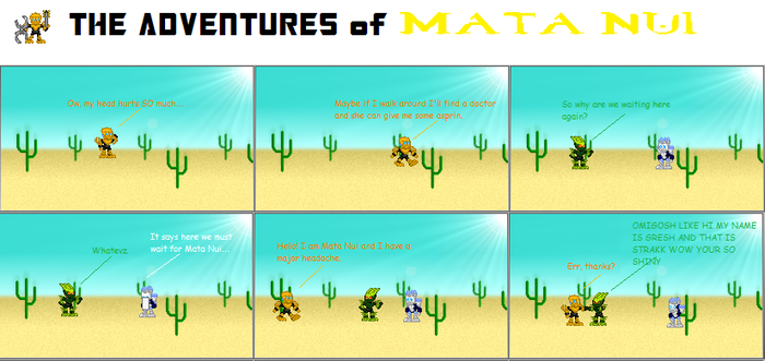 The Adventures of Mata Nui by FireEmblemBZP