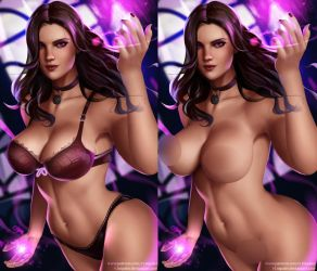 NSFW Yennefer Already on Patreon! by v1mpaler