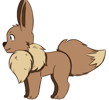 an Eevee by cockorok