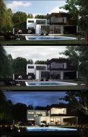 The Dreamed House by FEG