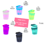 Free to USE - Trash Collection by Happy-sorry