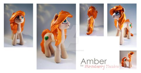 Amber :: OC Commission by StrawberryMeadow