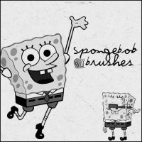 Sponge Bob Squarepants Brushes by wondersmile