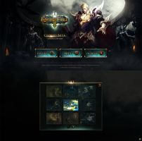 Knight's Fable/Game website by onejian