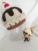 french vanilla ice cream hat by MasterPlanner