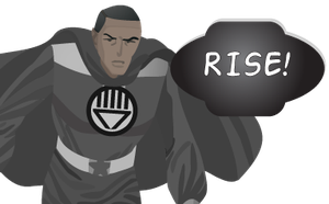 Black Lantern Stellar Man by CodeAndReload