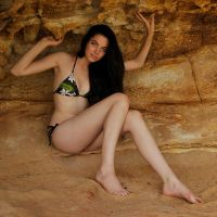Rosie - cave girl 1 by wildplaces